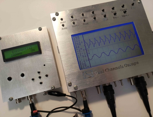 Dual Channels Oscilloscope & Waveform Generator