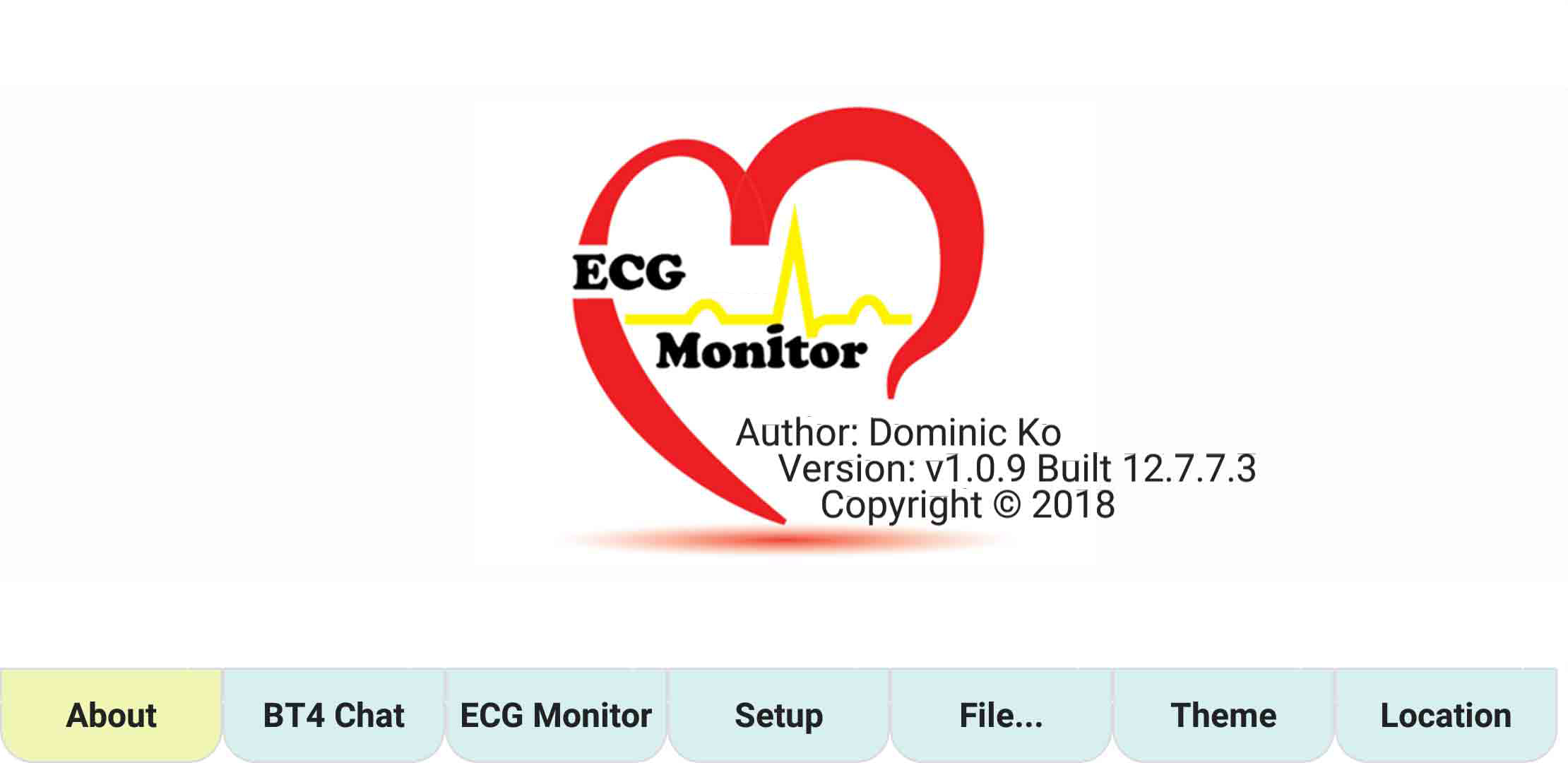 ecgMonitor-About-Page