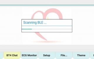 ecgMonitor-Scanning-BLE