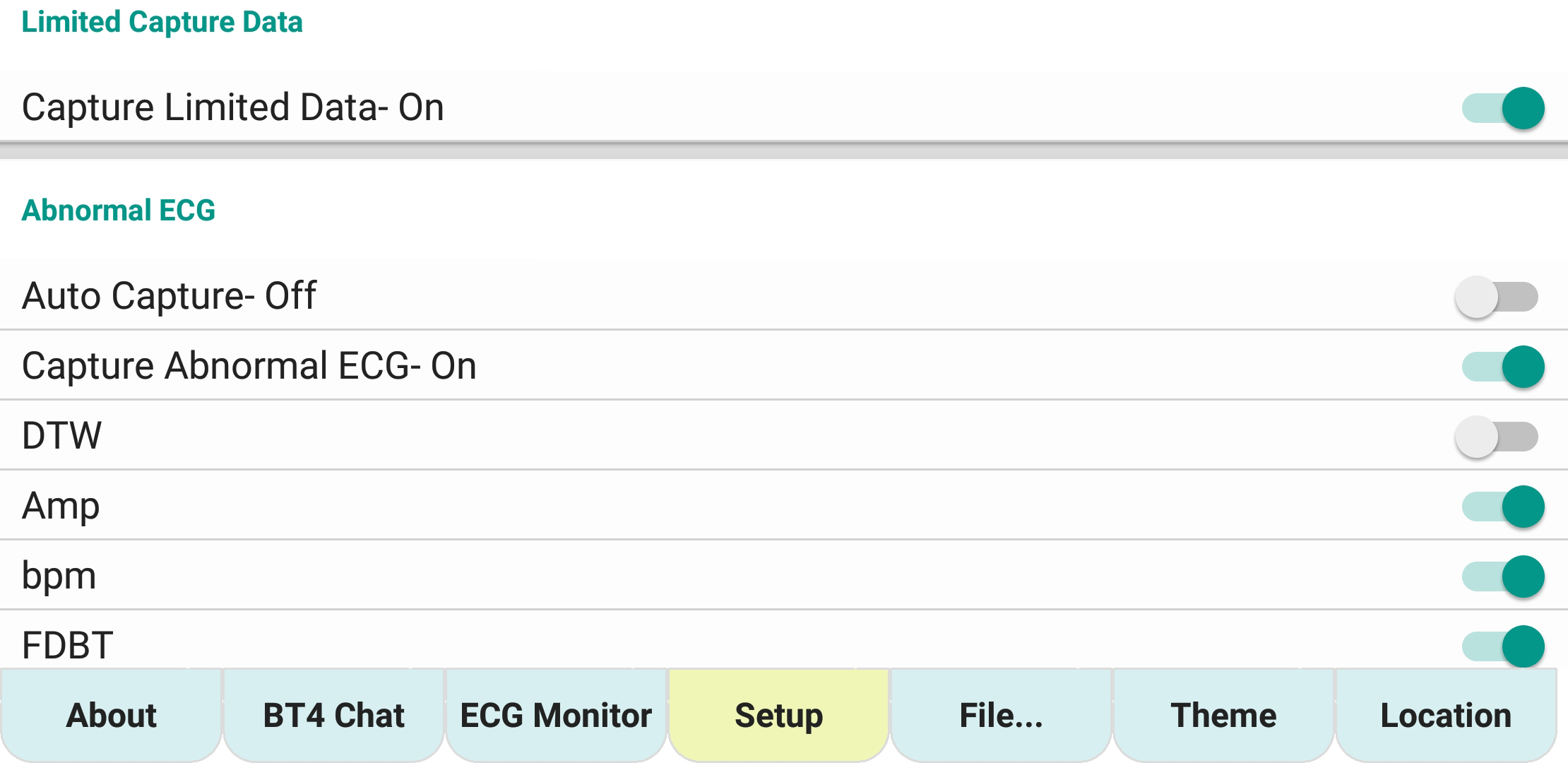 ecgMonitor-Setting-Abnormal-ecg