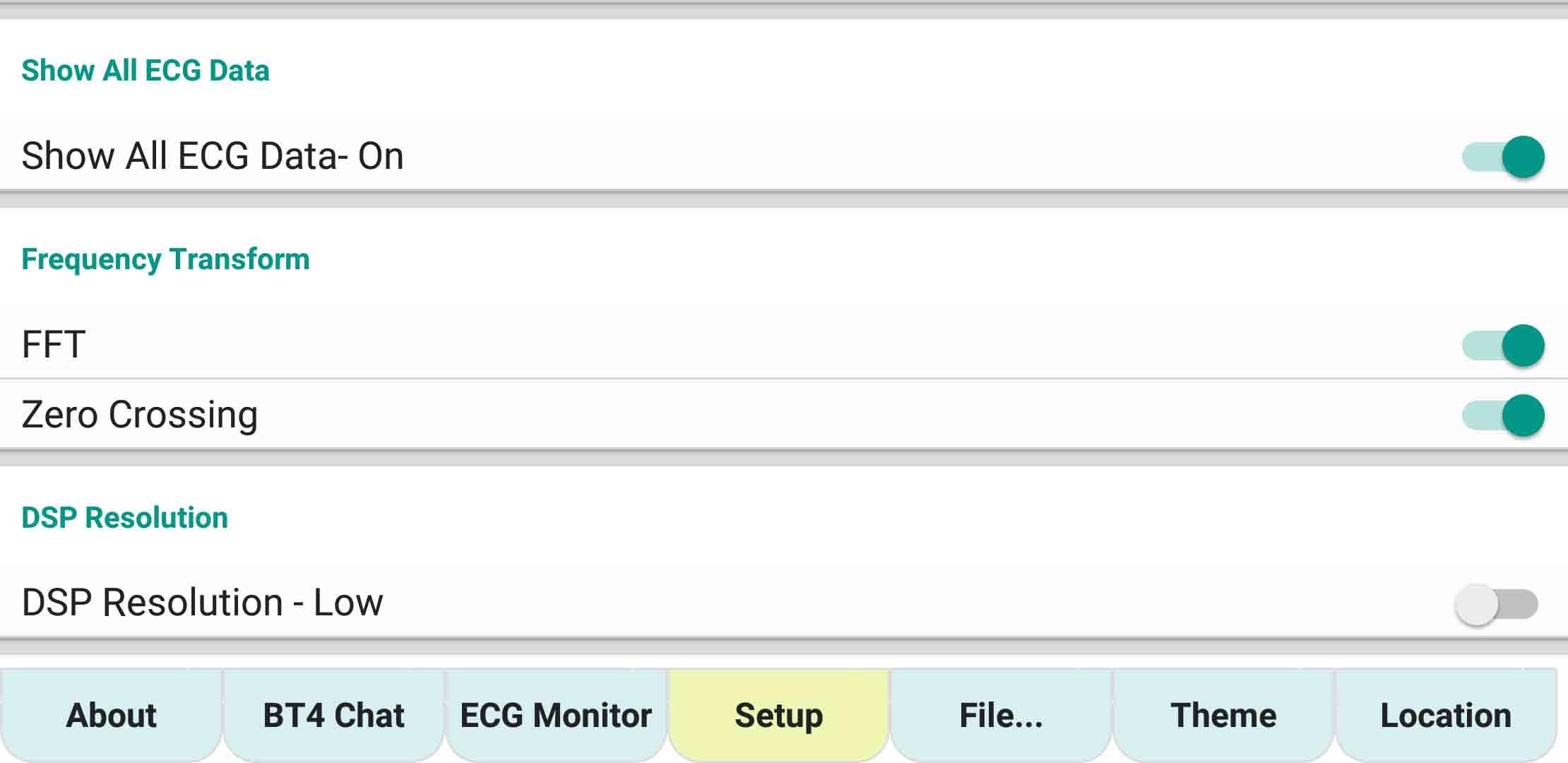 ecgMonitor-Setting-FFT-ZeroCrossing