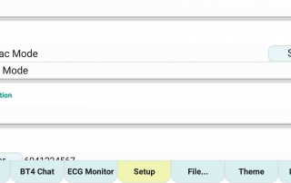 ecgMonitor-Setting-Mode
