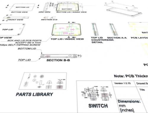 ecgMonitor CAD Case Housing