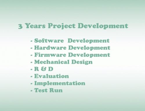 3 Years Project Development